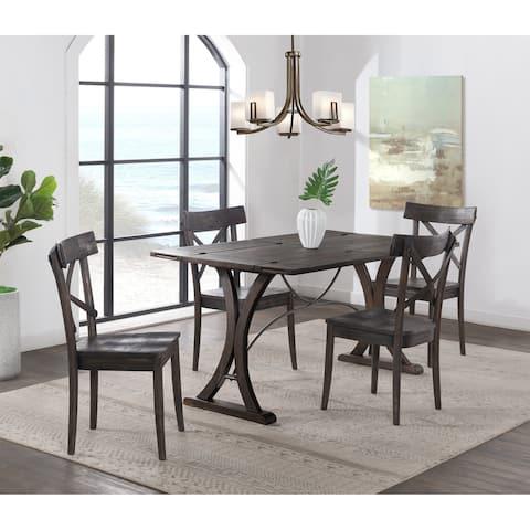 Carbon Loft Carvalho Folding Top 5-piece Dining Set