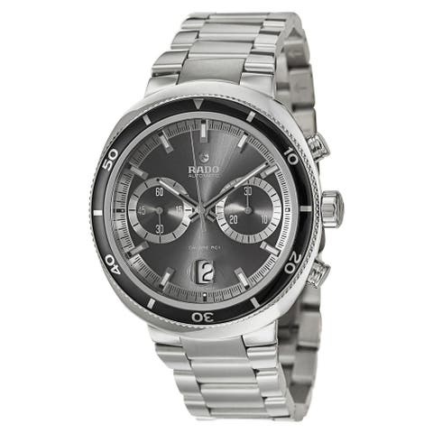 Rado Men's R15965103 'D Star' Chronograph Stainless Steel Watch