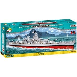Link to COBI World War II Battleship USS Iowa BB-61 / USS Missouri BB-63 2400 Piece Construction Blocks Building Kit Similar Items in Building Blocks & Sets