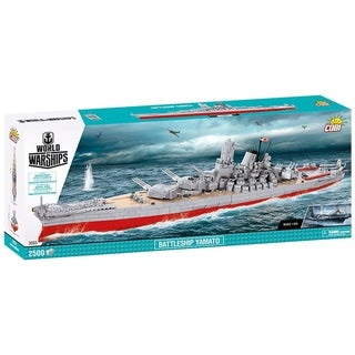 Link to COBI World of Warships  Battleship Yamato 2500 Piece Construction Blocks Building Kit Similar Items in Building Blocks & Sets