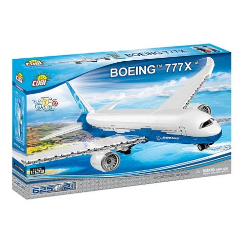 COBI Boeing 777X Airplane 625 Piece Construction Blocks Building Kit