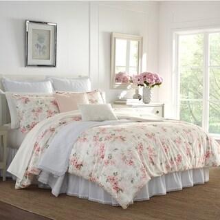 Laura Ashley Wisteria Decorative Throw Pillows