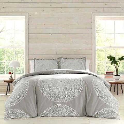 Marimekko Fokus Grey Cotton Duvet Cover Set
