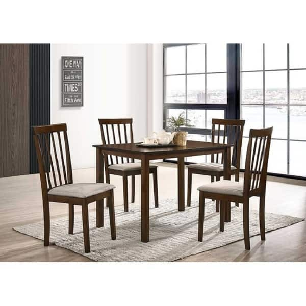 Fantastic Shop Raymond Wood 5 Piece Dining Table Chair Set Free Inzonedesignstudio Interior Chair Design Inzonedesignstudiocom