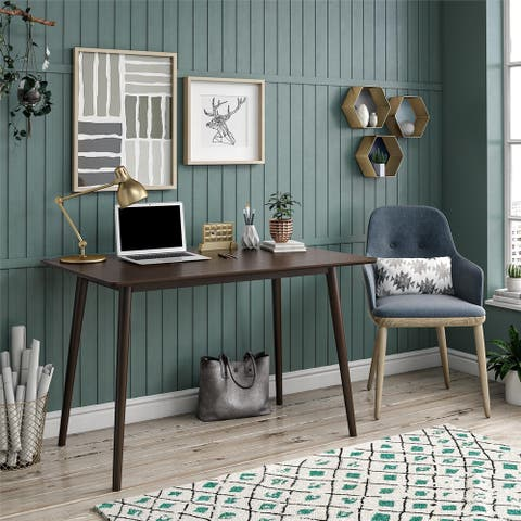 Novogratz Brittany Walnut Desk