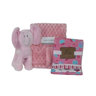 Link to 6 Piece Diamond Plush Baby Blanket Gift Set Similar Items in Gift Sets