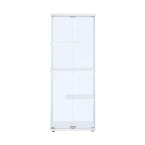 Picket House Furnishings Maxwell Glass Display Cabinet - N/A