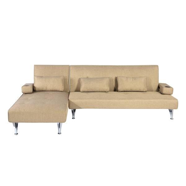 Shop Modern Mid Century Sleeper Sofa Bed Free Shipping