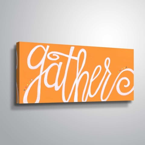 ArtWall Gather Gallery Wrapped Canvas