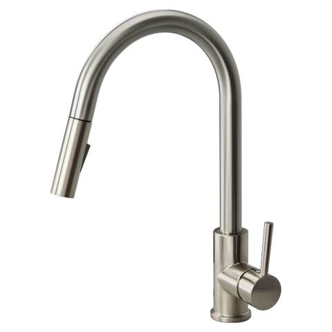 """Transolid Zayne 1.8GPM Pull Down Kitchen Faucet with Single Handle - 2.13"""" x 9.64"""" x 16.53"""""""