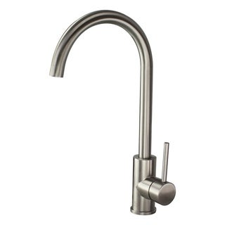 """Transolid Cameron Kitchen Faucet with Single Handle with Deck Plate - 2.13"""" x 8.27"""" x 15.16"""""""