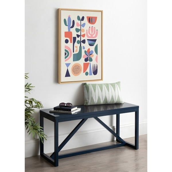 Kate and Laurel Sylvie Mid-Century Succulents Canvas By Rachel Lee. Opens flyout.