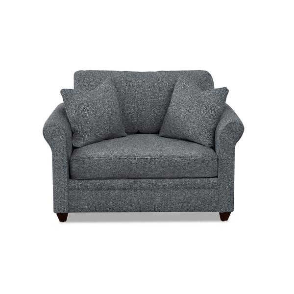 Miraculous Shop Dalton Oversized Chair Sleeper Twin Size Free Lamtechconsult Wood Chair Design Ideas Lamtechconsultcom