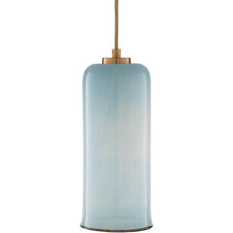 "Carmi Pearlized Glam 1-light Pendant - 15.5"" x 12.5"" x 12.5"""