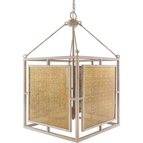 Belva Metal Farmhouse 4-light Pendant