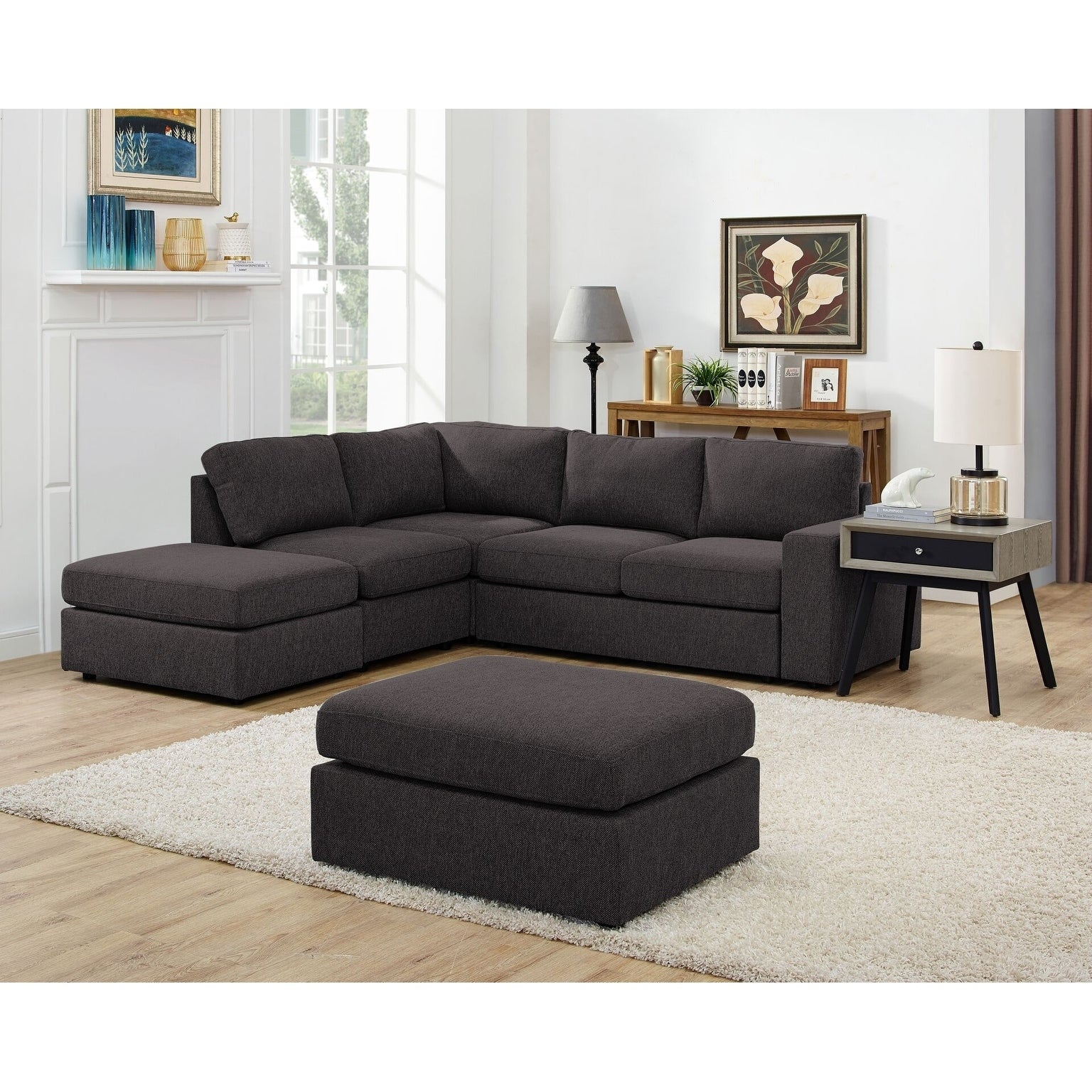 Collections Of 6 Piece Modular Sectional With Ottoman