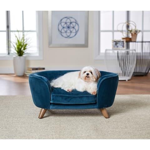 Enchanted Home Pet Romy Pet Sofa - Peacock