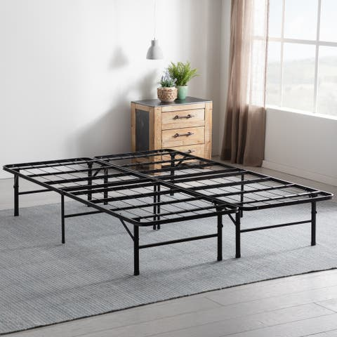 Porch & Den Palouse Folding Platform Bed Frame