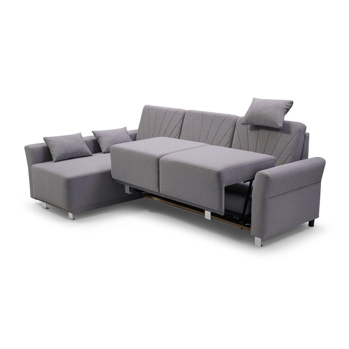 Molly Futon Sectional Sofa Bed Sleeper