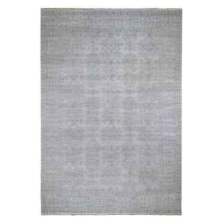 "Shahbanu Rugs Turkish Knot Oushak Design Hand-Knotted Pure Wool Oriental Rug (9'8"" x 13'10"") - 9'8"" x 13'10"""