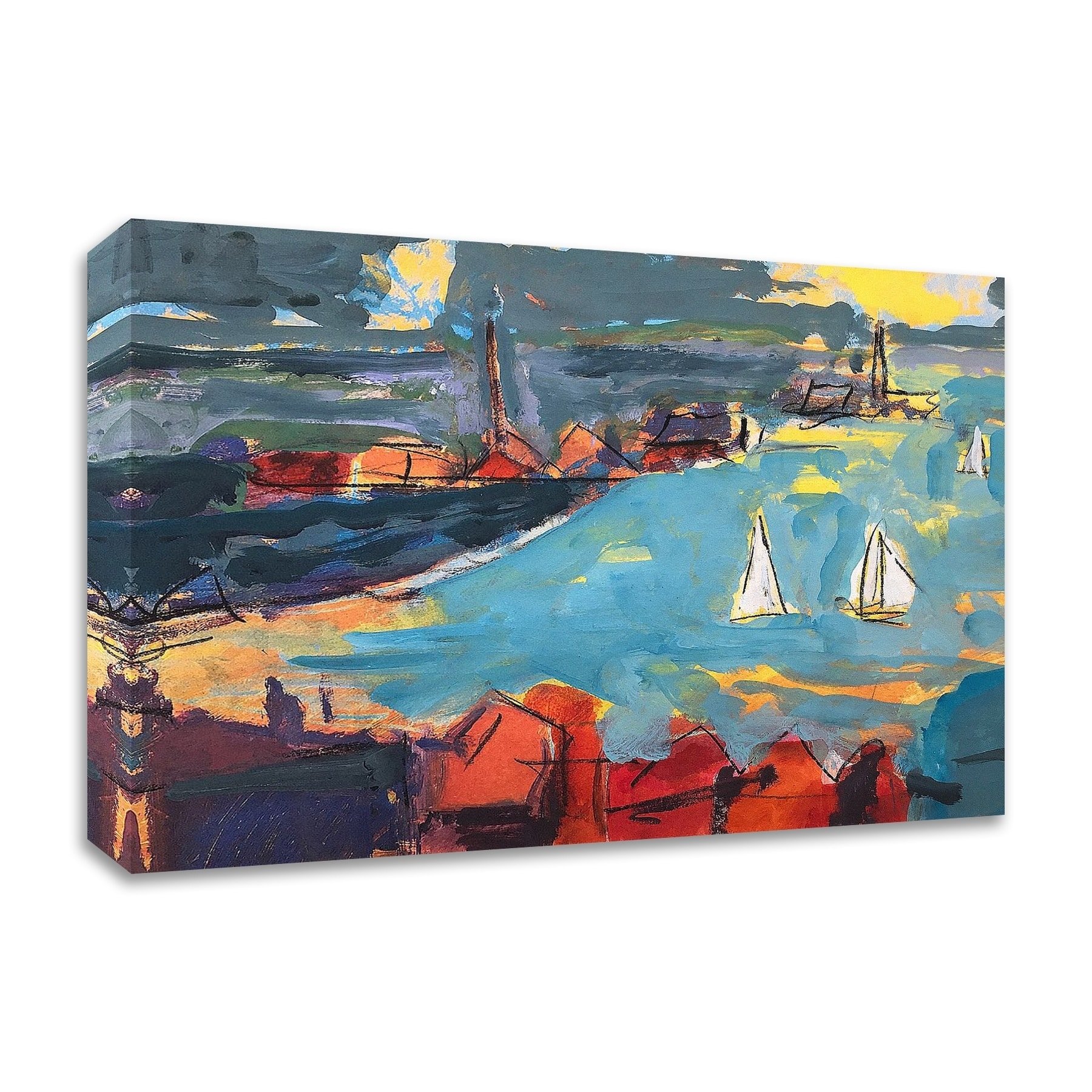Homeward Bound By Per Anders Print On Canvas 24 X 18 Ready To Hang Overstock 29161773
