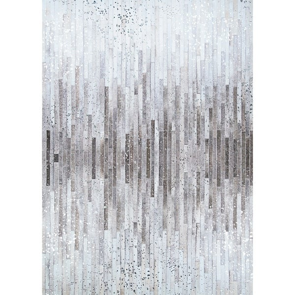 Steppe Nome Gray-Brown Area Rug