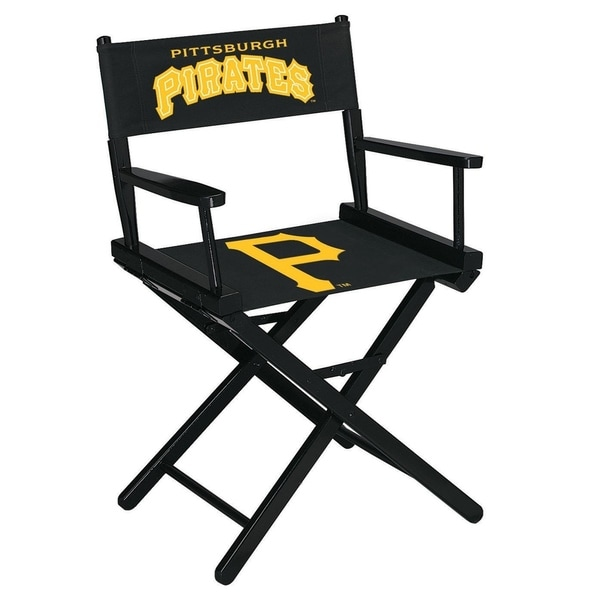 Astonishing Directors Chair Table Height Mlb Pittsburgh Pirates Squirreltailoven Fun Painted Chair Ideas Images Squirreltailovenorg