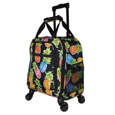 Hawaii Pineapple Laptop 18-Inch Carry-On Spinner Luggage