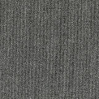 "4urFloor 18""X18"" Ribbed Carpet Tile Sky Gray  (36sqft)"
