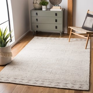 Safavieh Handmade Abstract Hela Modern & Contemporary Wool Rug
