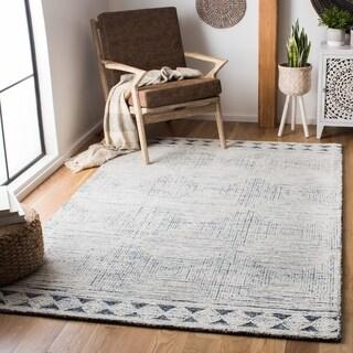 Safavieh Handmade Abstract Hela Contemporary Wool Rug