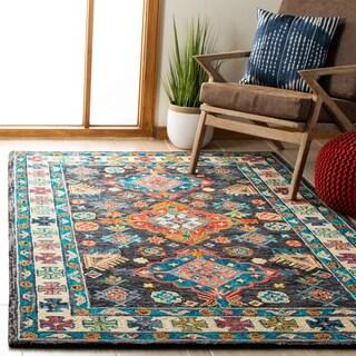 Safavieh Handmade Aspen Pegeen Bohemian & Eclectic Tribal Wool Rug