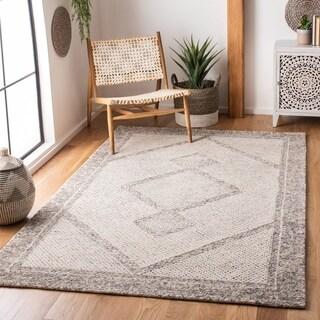Safavieh Handmade Abstract Laurina Contemporary Wool Rug