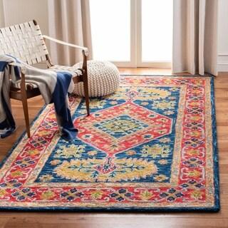 Safavieh Handmade Aspen Renuka Bohemian & Eclectic Tribal Wool Rug