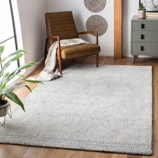Safavieh Handmade Abstract Zenzi Contemporary Wool Rug