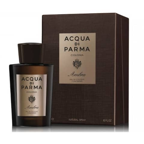 Acqua Di Parma Colonia Ambra for Men Eau De Cologne Concentree Spray 6.0 oz
