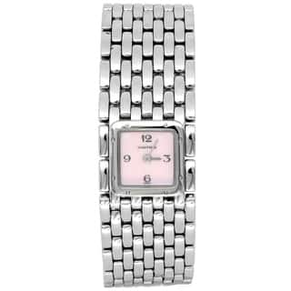 Pre-owned 21mm Cartier Stainless Steel Panthere Ruban Watch - N/A
