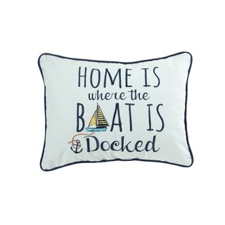 Home Docked Pillow