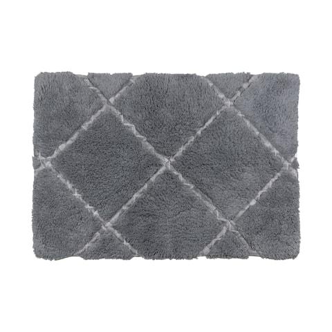 Croscill Sloan Sheared Cotton Bath Rug