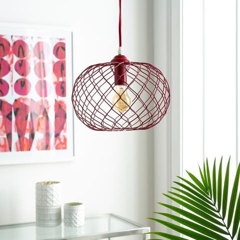 Moxee Contemporary Monochromatic 1-light Pendant