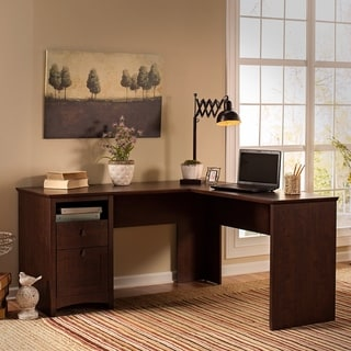 Copper Grove 60W L Shaped Desk with Drawers