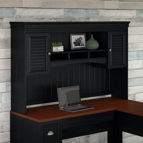 Copper Grove Hutch for L Shaped Desk