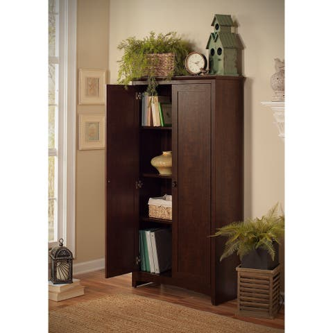 Copper Grove Tall Storage Cabinet with Doors