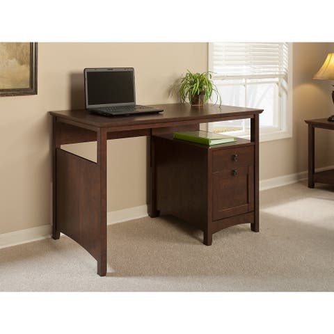 Copper Grove Computer Desk with Drawers