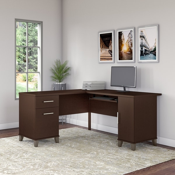 Strick & Bolton 60W L Shaped Desk