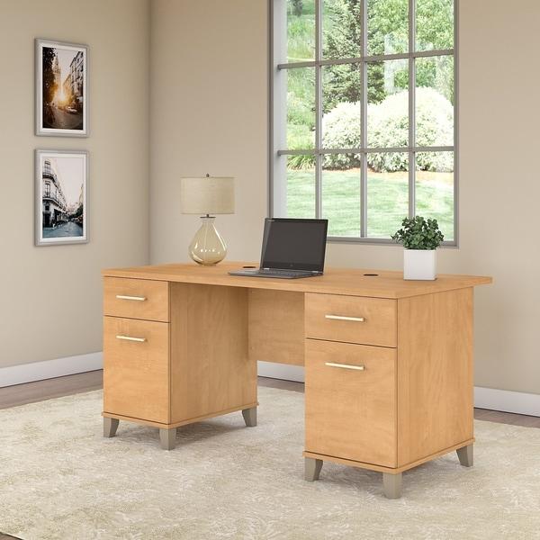 Copper Grove Shumen 60W Office Desk. Opens flyout.