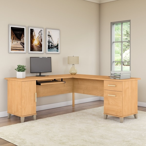 Strick & Bolton 72W L Shaped Desk