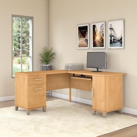 Copper Grove Shumen 60W L Shaped Desk