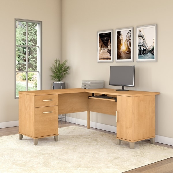 Strick & Bolton 60W L Shaped Desk
