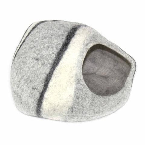 Handmade Felt Wool Cat Cave Bed